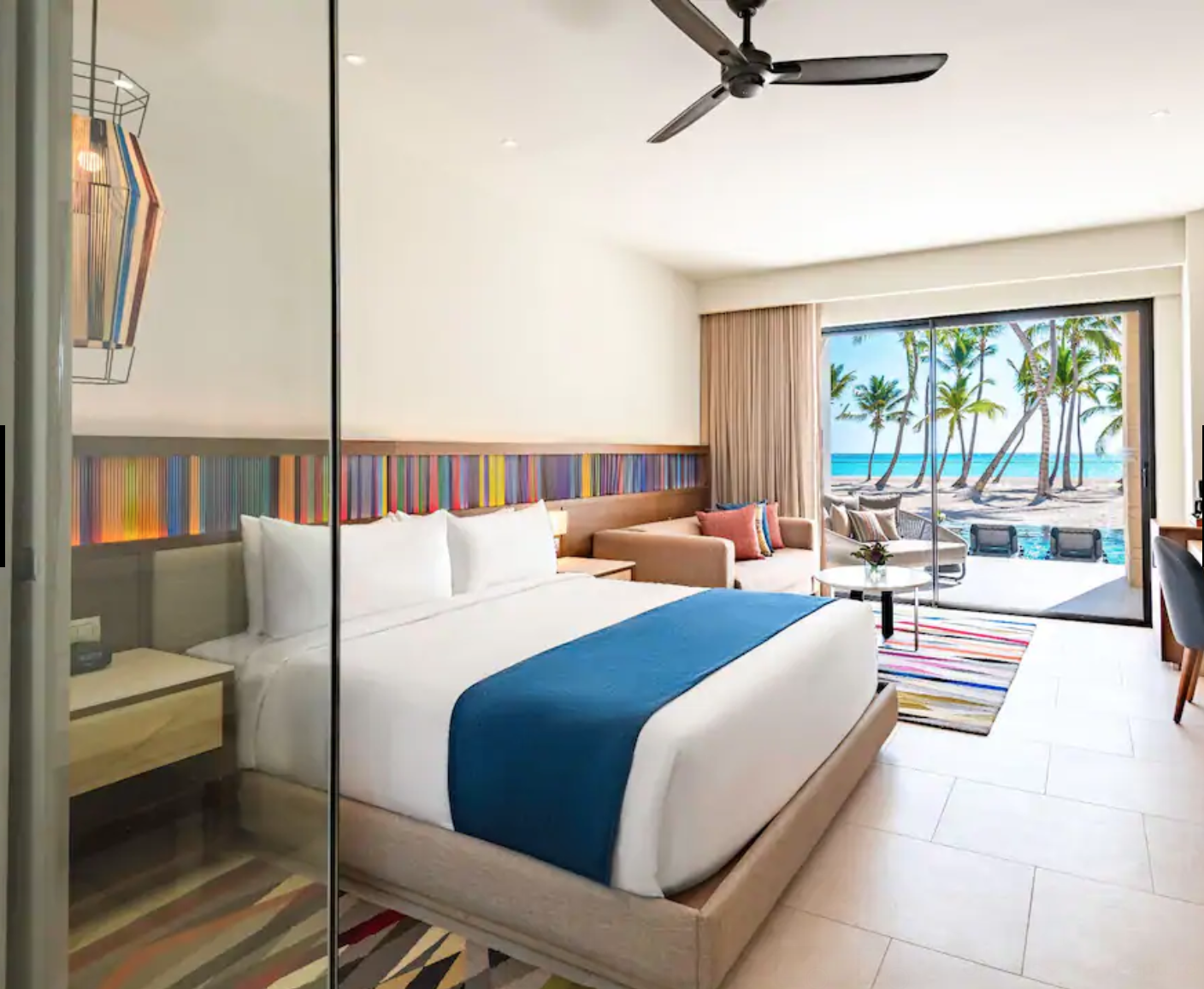 Hyatt Ziva Cap Cana room with ocean view