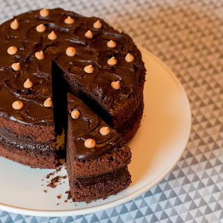 Chocolate-Peanut Butter Layer Cake