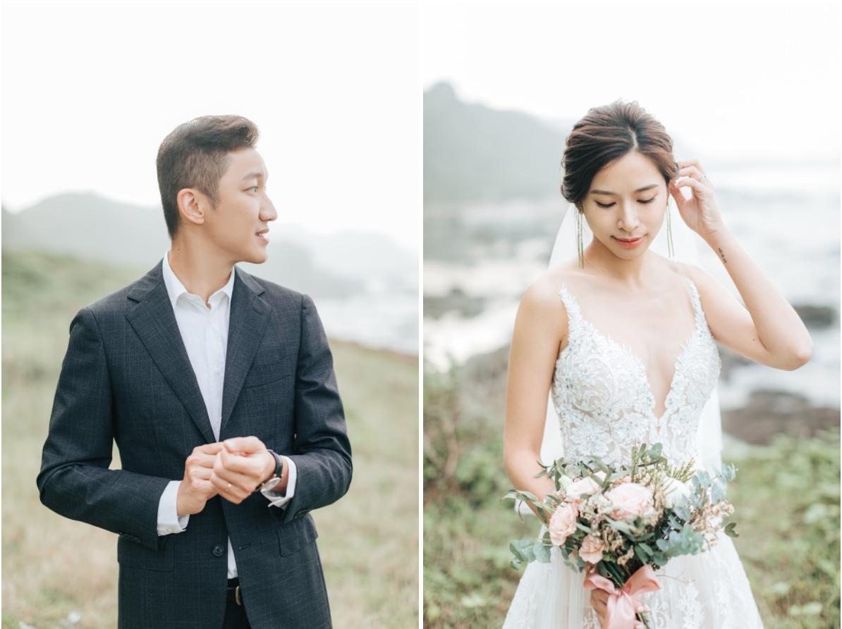 在台北拍攝的美式風格 日常便服婚紗 ,還有八斗子潮境的美式婚紗