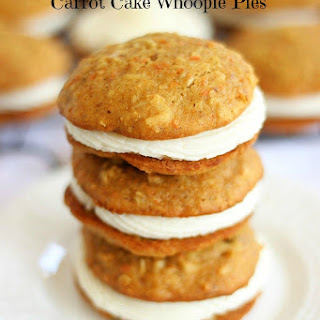 Carrot Cake Whoopie Pies with Cream Cheese Buttercream.
