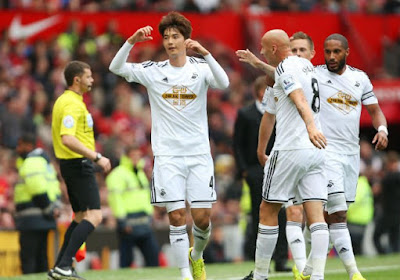Swansea met negen man onderuit tegen tweedeklasser