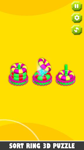 Bubble sort it games 3d-Hoop stacks new games 2020 android2mod screenshots 7