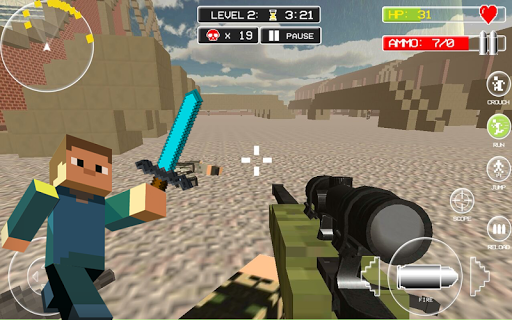 Diverse Block Survival Game screenshot 00