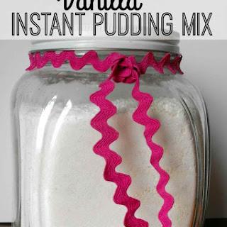 Vanilla Instant Pudding Mix.