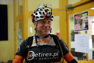 Photo: Grzegorz Liszka - zwycięzca TR130 na mecie.