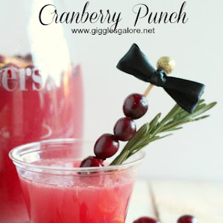 Holiday Cranberry Punch.