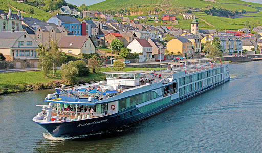 Avalon Luminary sails the Moselle River in picturesque Luxembourg.