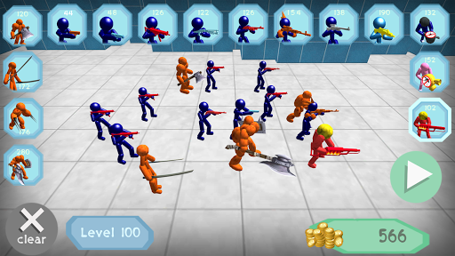 Stickman Spiders Battle Simulator 1.01 screenshots 1