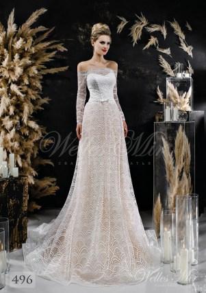 свадебные платья цвета пудры оптом