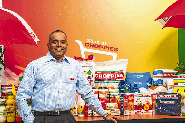 Choppies CEO Ramachandran Ottapathu. Picture: CALVIN ANDERSON