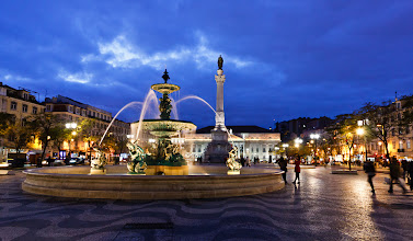 Photo: Pedro IV Square in Lisbon, Portugal.  I had to take this shot handheld because I was travelling light and didn't have a tripod or anything to lean against. Usually in situations like this I'll take a burst of three or so shots in the hope that one of them comes out reasonably sharp. Something I've come to notice is that the first photo of the three is most likely to be the sharpest. This seems a bit counter intuitive to me but I suppose it must be something to do with the way I push/hold/release the shutter.  Has anyone else noticed something similar?