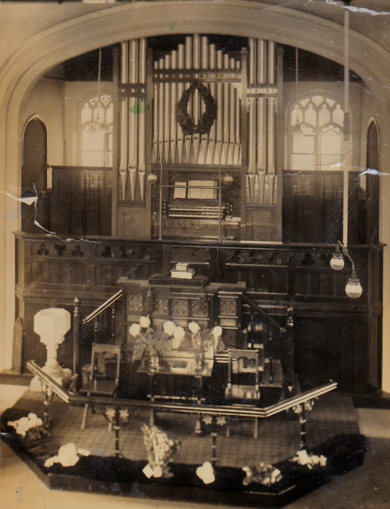 Tenterden Wesleyan Church Organ