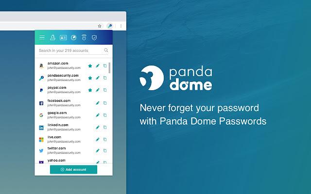 Panda Dome Passwords
