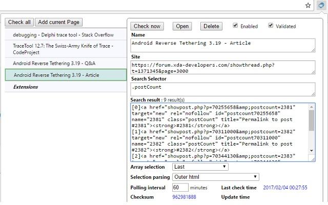 Page checker