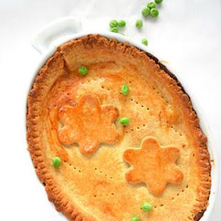 Cheddar Crust Vegetable Pot Pie