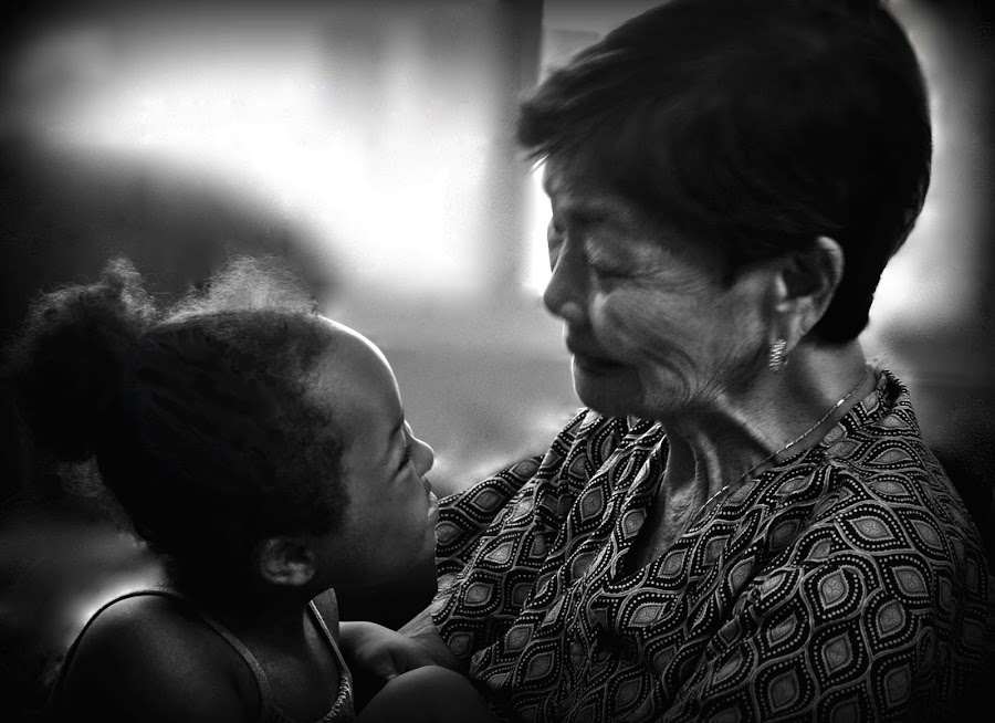 Jade and Apo by Graycee Masangcay - People Family