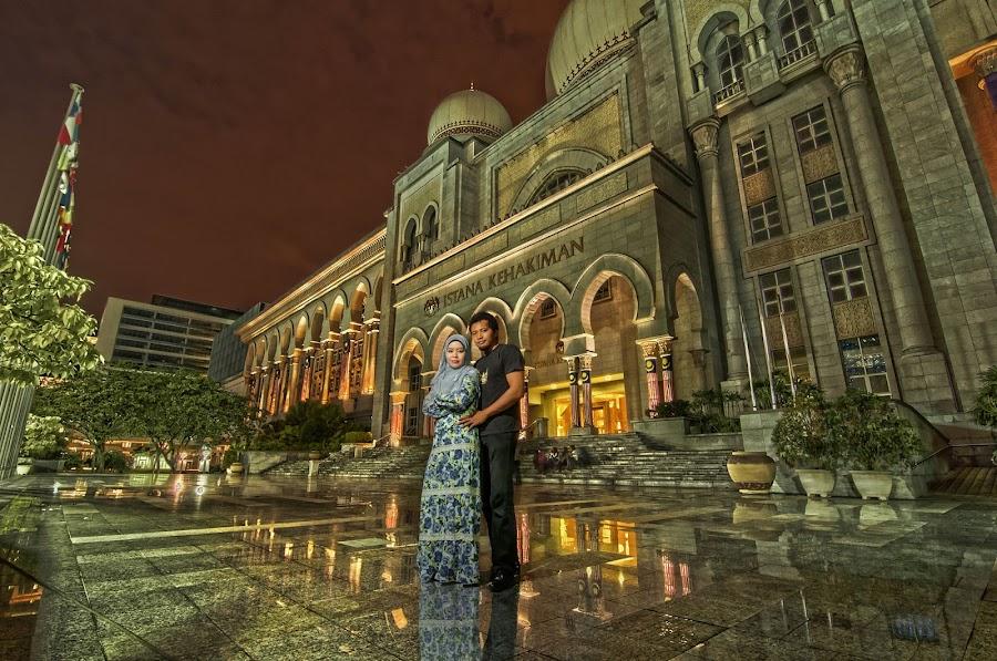 Palace of Justice by Jebat Harimau - Buildings & Architecture Public & Historical ( palace of justice putrajaya, mahkamah portrait )