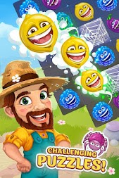 Funny Farm match 3 game APK screenshot thumbnail 3