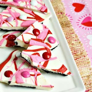 Swirled OREO Candy Bark