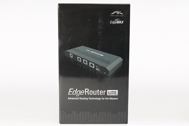 Ubiquiti  EdgeRouter  Lite  маршрутизатор
