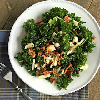 Kale and Kohlrabi Salad