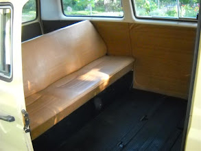 Photo: The middle seat is in the garage--where it has been for 25 years....