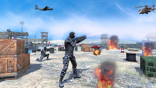 Army shooting game : Commando Games screenshots 1