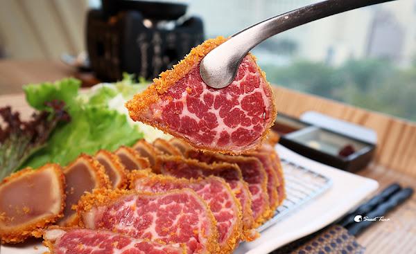 虎次日式燒肉‧炸牛排專門店-ATT 4 FUN信義 / 炸牛排炸黑鮪魚雙拼