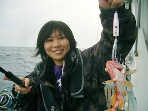 Photo: 蛍ちゃん! インチクでアラカブキャッチ! ガンバレー♥