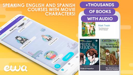 EWA: Learn English & Spanish Language screenshot 1