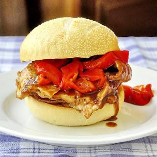 Orange Hoisin Pork Sandwiches