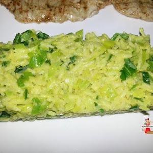 Creamy Rice with Leek
