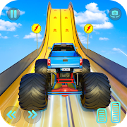 Monster Truck Mega Ramp Stunts Extreme Stunt Games MOD APK 1.24 (Unlimited Money)