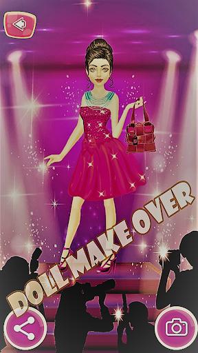 Dream Doll Makeover | Princess Salon Barbie Doll 1.17 Screenshots 4