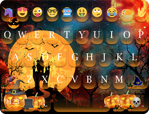 玩免費個人化APP|下載Halloween Day emoji Keyboard app不用錢|硬是要APP