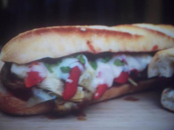 Eddie's Eggplant Sandwiches Recipe