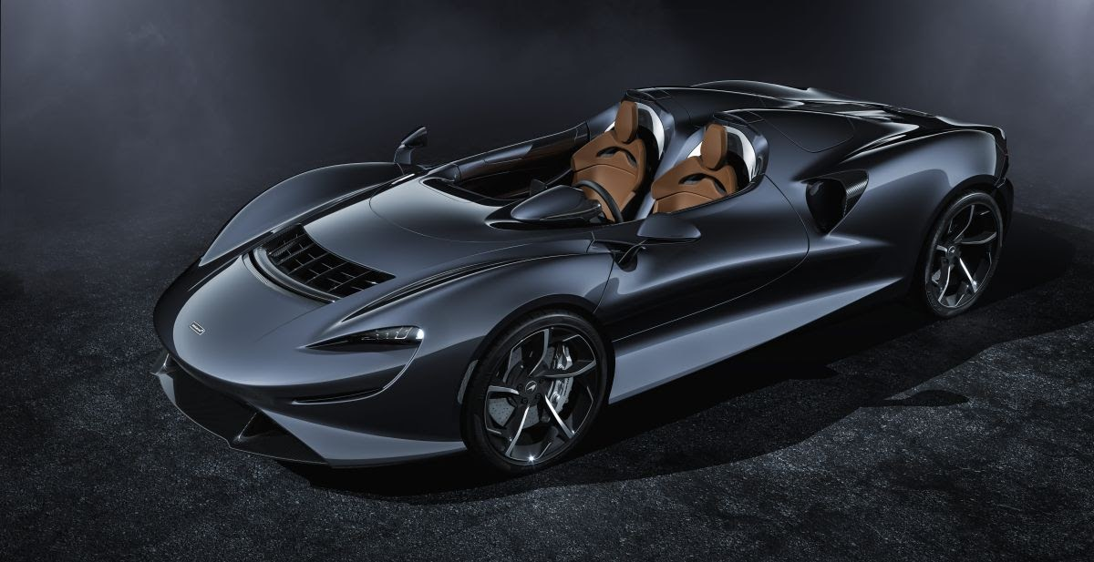 McLaren Elva sculptural roadster revealed