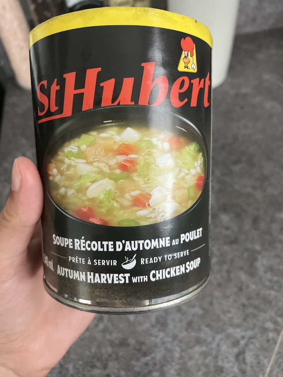 Autumn Harvest With Chicken Soup