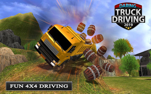 Offroad Transport Truck Driving - Jeep Driver 2019  screenshots 6