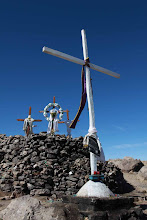 Photo: Cruces de cerro Baul Torata Moquegua (28 y 29-Julio-2012)