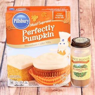 Pumpkin Spice Cake Mix Cookies Recipe {Just 4 Ingredients!}