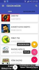 TÜRKÇE MÜZİKLER screenshot 1