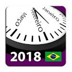 Brasil Calendário 2018 com todos os Feriados Icon