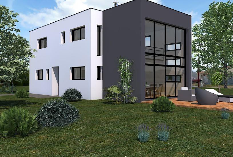 Vente Terrain + Maison - Terrain : 300m² - Maison : 128m² à Sainte-Pazanne (44680)