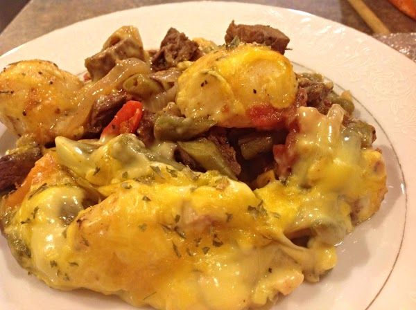 Remix-cheesy Beefy Baked Casserole Recipe