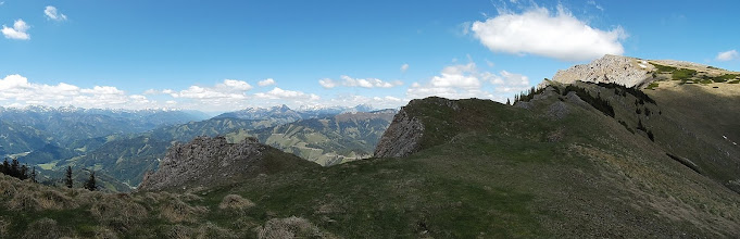 Photo: hrbat , najviša točka Kahlwandspitze 2090