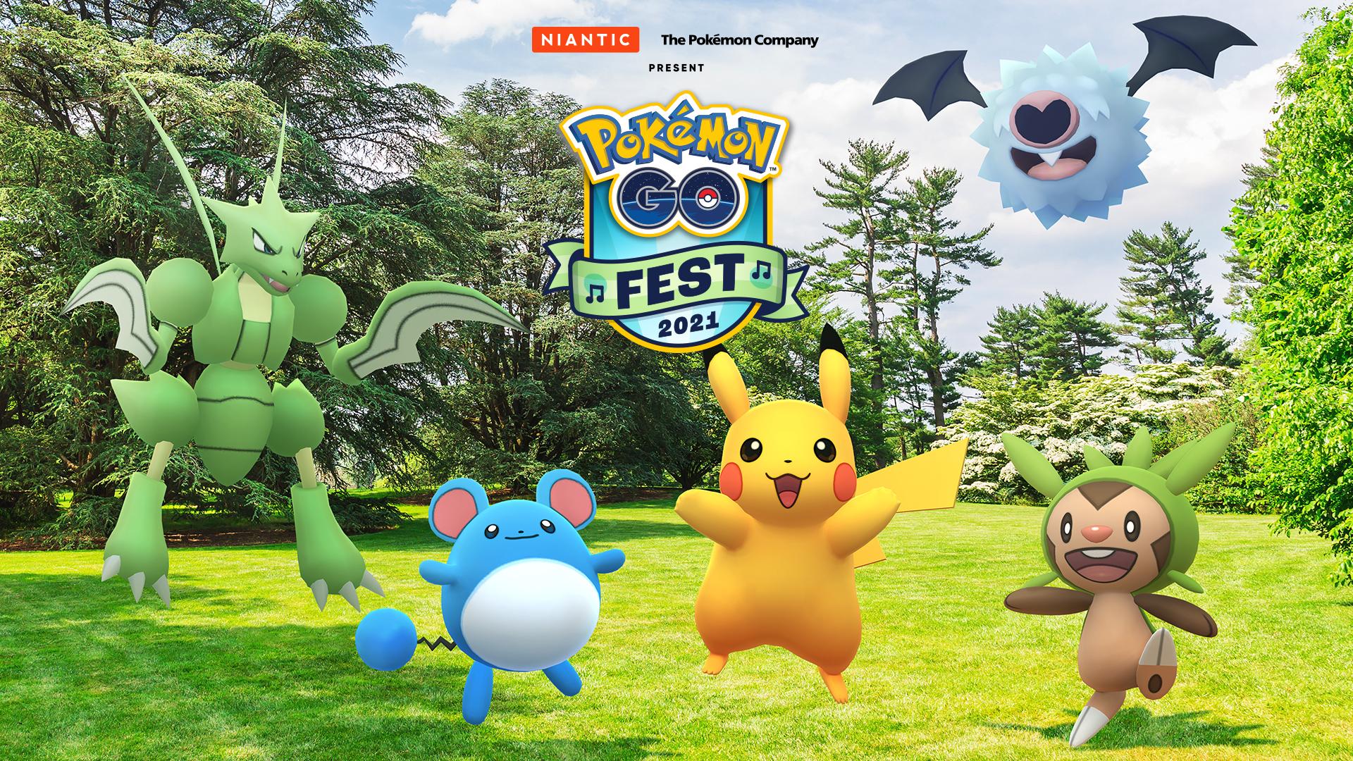 「Pokémon GO Fest 2021」が7月に開催決定!