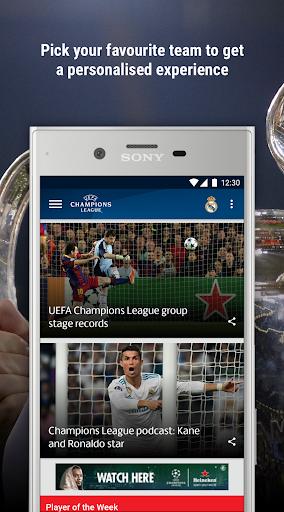 UEFA Champions League Screenshot