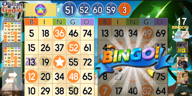 Guide Bingo Party 2018