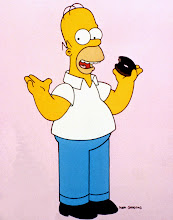 Photo: THE SIMPSONS: Homer Simpson. Image must include Matt Groening signature and copyright. CANNOT REPRODUCE WITHOUT THE SIMPSONS TM &©1999 20TH CENTURY FOX FILM CORP. ALL RIGHTS RESERVED CR: FOX